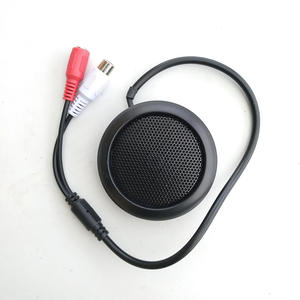 Microphone Camera Audio Cctv-Pick-Up Sensitivity Security Mini for RCA Black-Color High-Quality