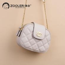 ZOOLER 2016 winter new women leather bags handbags women famous brands luxury shoulder bag genuine leather bolsa feminina#2920 цена 2017