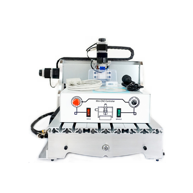 CNC 3040 T-D300 milling machine with 300W spindle motor upgraded from CNC 3040 engraver free shipping 0 3kw cnc spindle motor 300w spindle motor diy dc 12 48 cnc 300w spindle motor for pcb milling machine