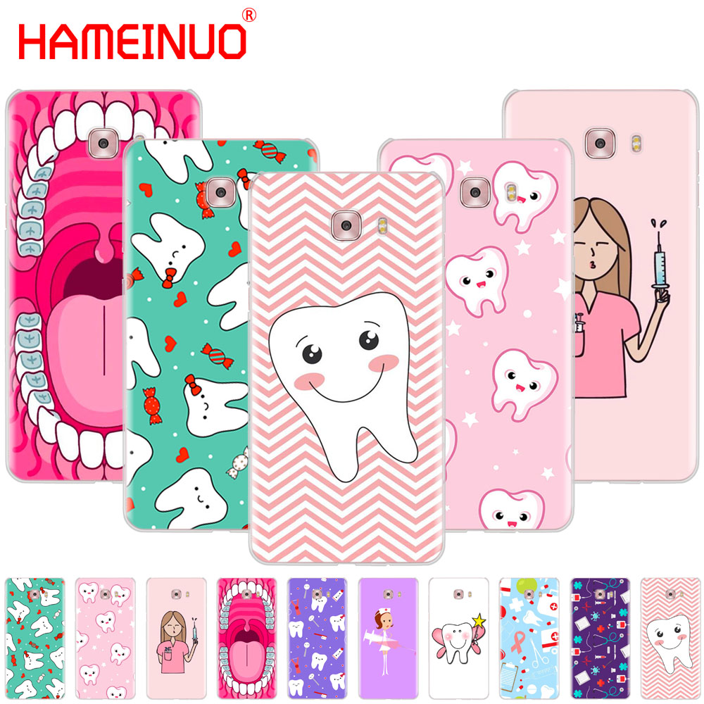 Analytical Hameinuo Nurse Doctor Dentist Stethoscope Tooth Injections Cool Cover Phone Case For Samsung Galaxy C5 C7 C8 C9 C10 J2 Pro 2018 Vivid And Great In Style Phone Bags & Cases
