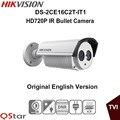 Hikvision original inglés versión ds-2ce16c2t-it1 turbo exir bullet cámara hd720p tecnología exir 20 m ir ip66 cctv cámara