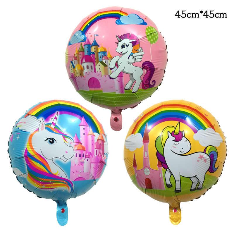 1 Pc 32 Estilos De Ar Hélio Ballon Feliz Aniversário Mario Brinquedos As Crianças Presentes brinquedo de COCO Decoração Pocoyo balões balão de Festa