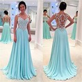New Fashion A-Line V-Neck Chiffon Short Evening Dresses Cap Sleeve Party Dress Beads Ruffles Sashes Elegant Evening Gowns