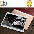 CB990 10.1 pulgadas de metal tablet PC Android tablet Pc Phone call octa core 4 GB RAM 128 GB ROM Dual SIM GPS FM bluetooth del IPS tabletas