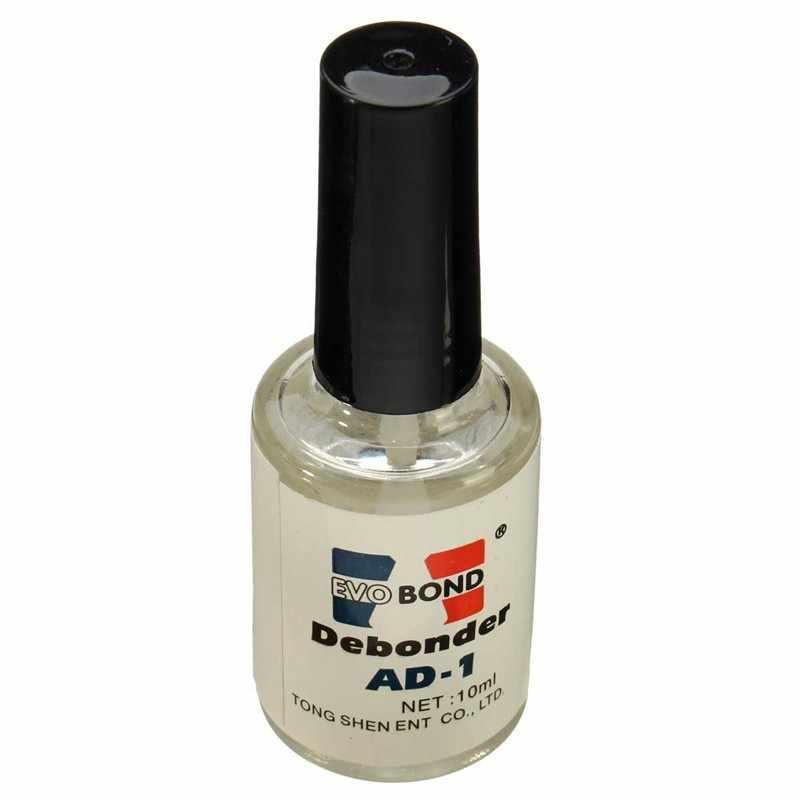 1X10 мл средство для снятия клея с ресниц Жидкий дебондер отдельные накладные ресницы клей для ногтей чистый клей для наращивания