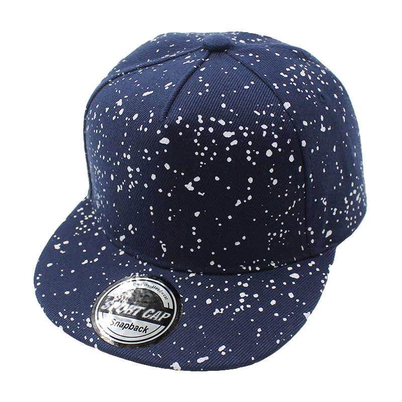 fa6b30652a LOVINGSHA Boy Baseball Caps 3 8 Years Old Kid Dot Design Snapback ...