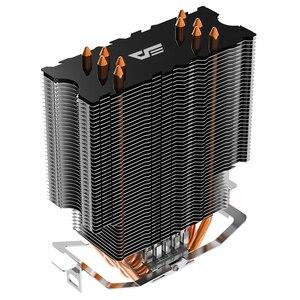 Image 5 - Aigo darkflash L5 LED CPU Cooler Radiator TDP 285W Heat Sink AMD Intel Silent 120mm 4Pin PC CPU Cooling Cooler Heatsink Fan