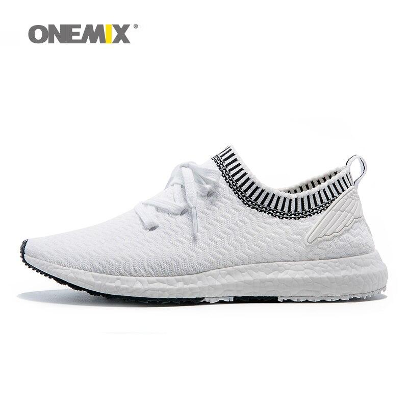 Onemix ala de ángel y diablo serie de zapatos corrientes de los hombres zapatill