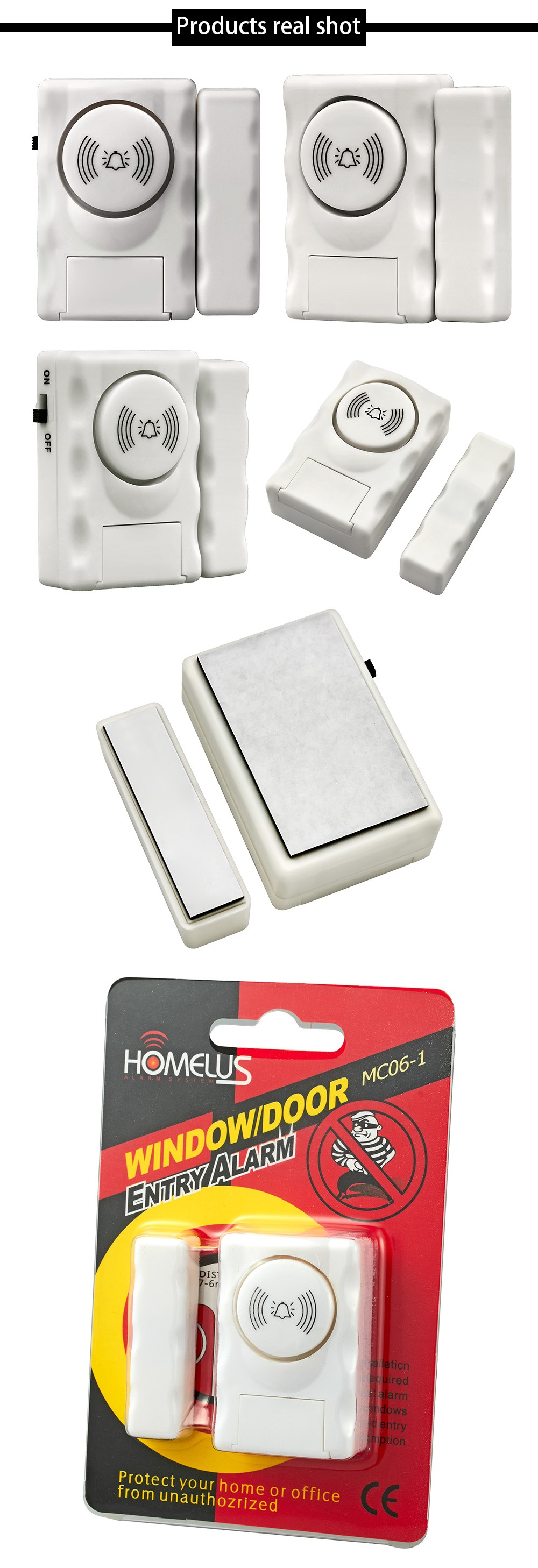 HTB1Hyq2OVXXXXXxXXXXq6xXFXXXN - Fuers Wireless Home Security Door Window Entry Alarm Warning System 105db Built-in Siren Magnetic Sensor