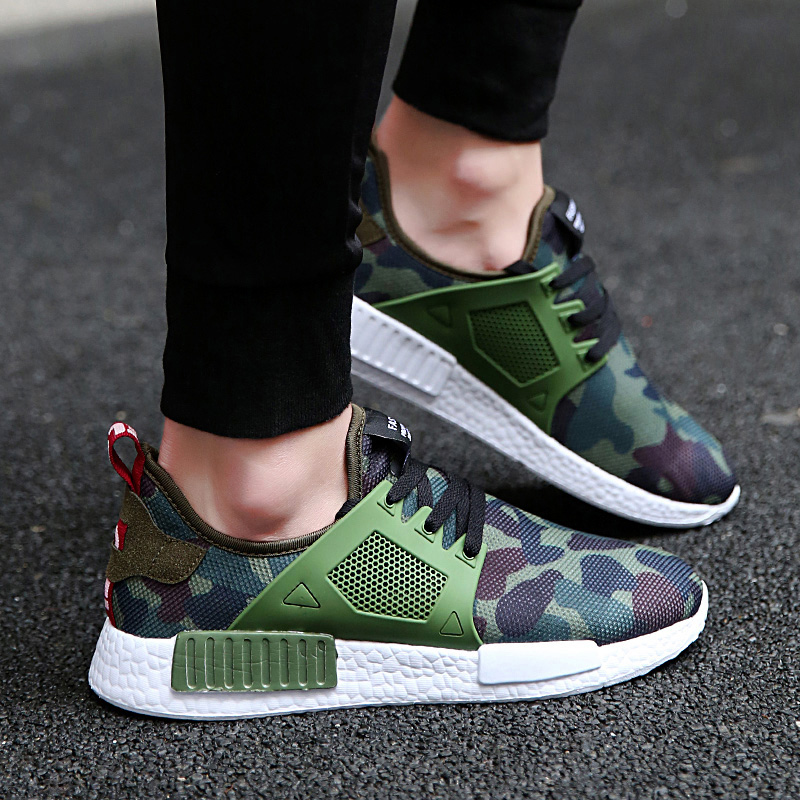 Fashion Men Casual Shoes 2017 New Breathable Superstar Shoes men Camouflage High Quality Brand Casual Men