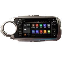 Runningnav Octa-core Android 6.0 Fit TOYOTA YARIS linken oder rechten fahr 2011-Auto DVD-Player Navigation GPS Radio