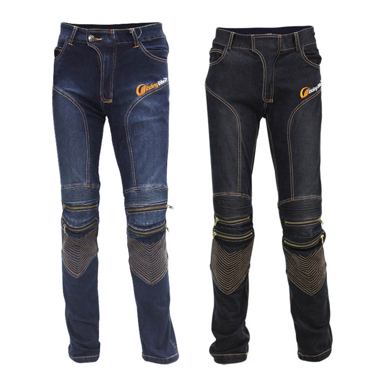 HOT SELLING! Locomotive Motocross Cycling Jeans With Knee Protector Gear Rider Motorcycle Moto Racing Pants M-XXL защита для мотоциклиста racing motocross knee protector pads guards protective gear