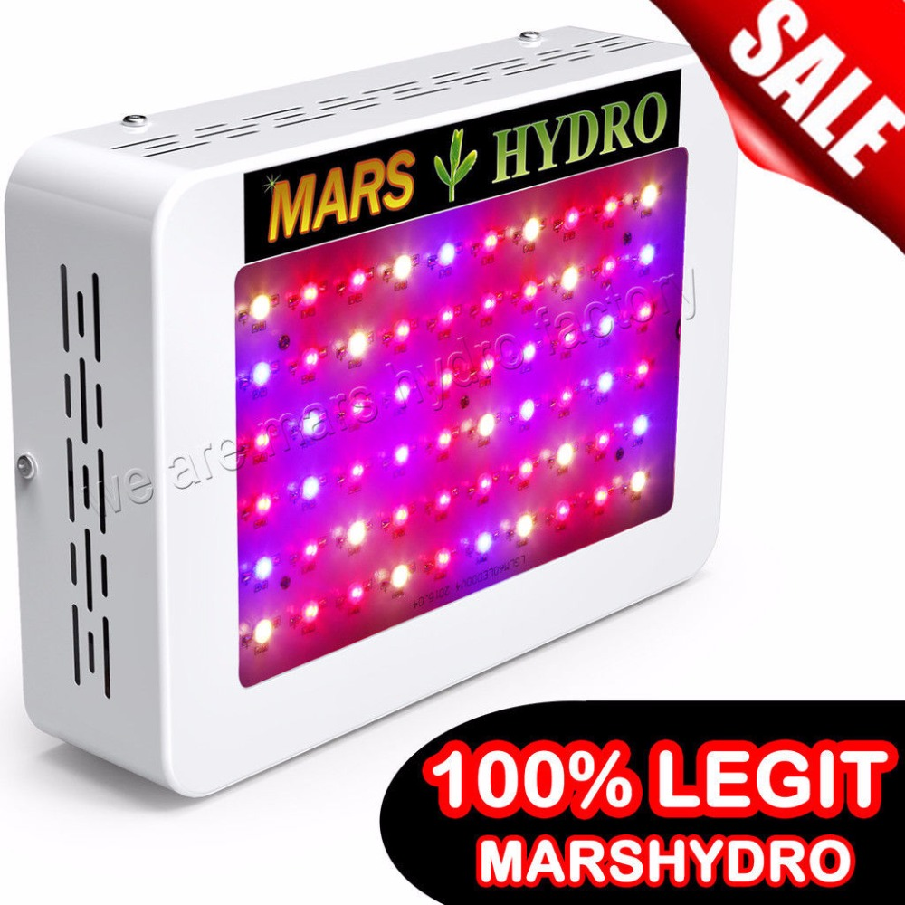 Mars Hydro Mars 300 /Mars600 LED Grow Light Full Spectrum for Hydroponic Planting Local free shipping