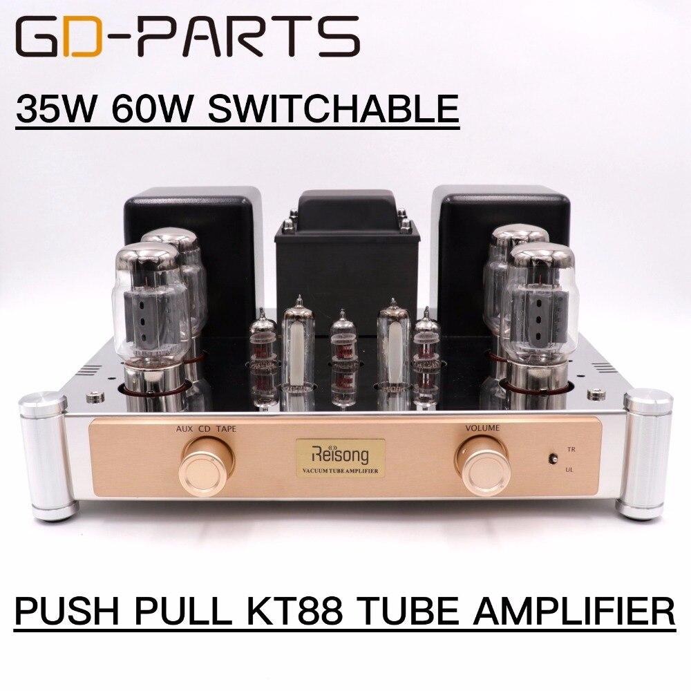 ⑧GD-PARTS HiFi аудио ⑥ push push pull KT88 ламповый ...