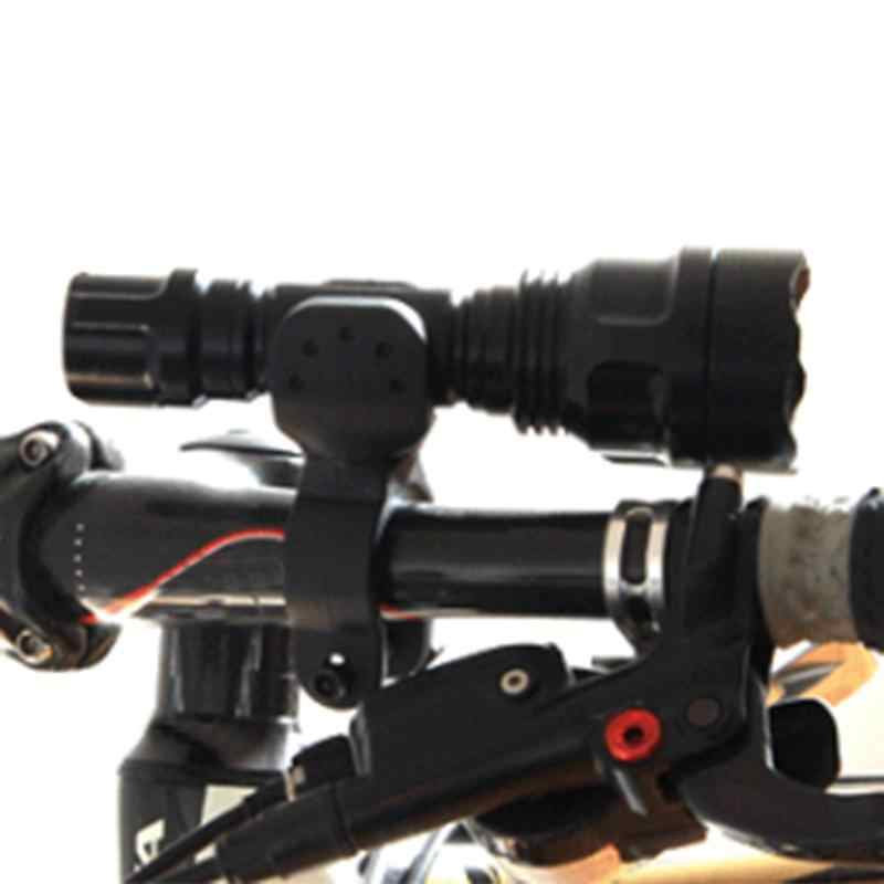 Fahrrad Licht Halter Stehen 360 Grad Rotation Universal Fahrrad Scheinwerfer Halter Taschenlampe Rack Fahrrad Licht Halterung Clip