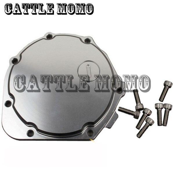 Moto CNC Stator Carter Carter pour Kawasaki ZZR1100 ZZR 1100 1993-2000 94 1995 1996 1997 1998 1999 Aluminium Stator Couverture