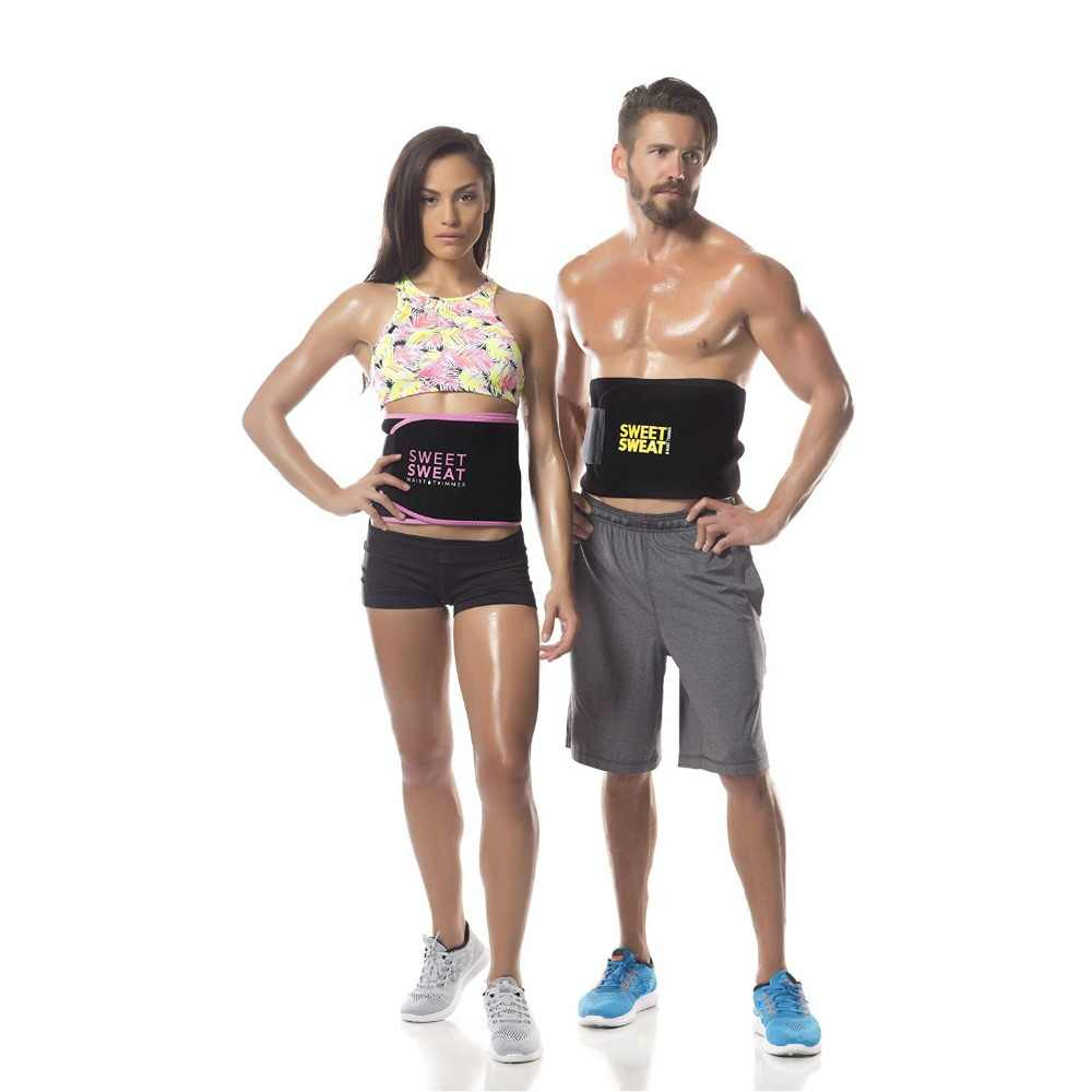 7873e1c399 ... Adjustable Waist Trimmer Belt Sweat Wrap Tummy Stomach Weight Loss Fat  Slimming Exercise Belly Body Beauty ...