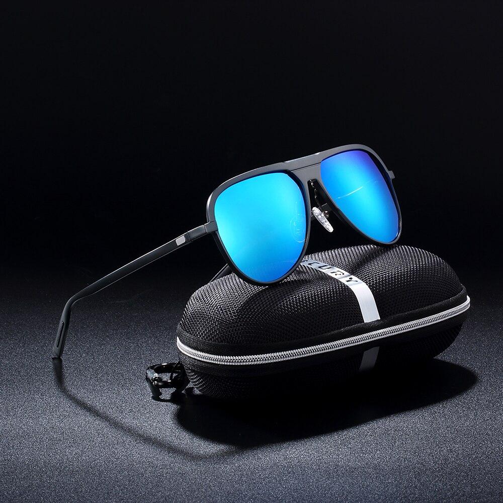 BARCUR Aluminium Magnesium Männlichen Sonnenbrille Männer Schwarze Brille Polarisierte sonnenbrille Frauen UV400 Oculos de sol