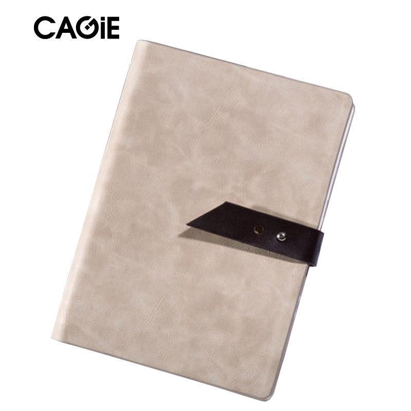 2018 Agenda Cagie Binder a5 Planner Vintage Leather Journal Office Lined Page Spiral Filofax Notebooks School Diary Sketchbook genuine leather notebook travelers journal agenda handmade planner notebooks diary caderno sketchbook school supplies