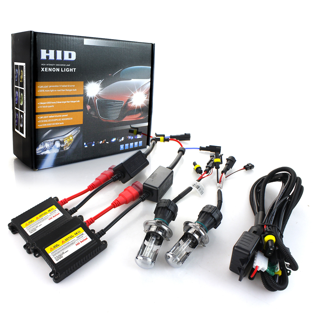 AC 55W hid kit xenon H7 6000K 55W 8000K HID H7 xenon hid kit H1 xenon H7 4300K 10000K 12000K hid headlight bulbs conversion kit makibes h7 55w 12v xenon hid kit car headlight xenon bulb