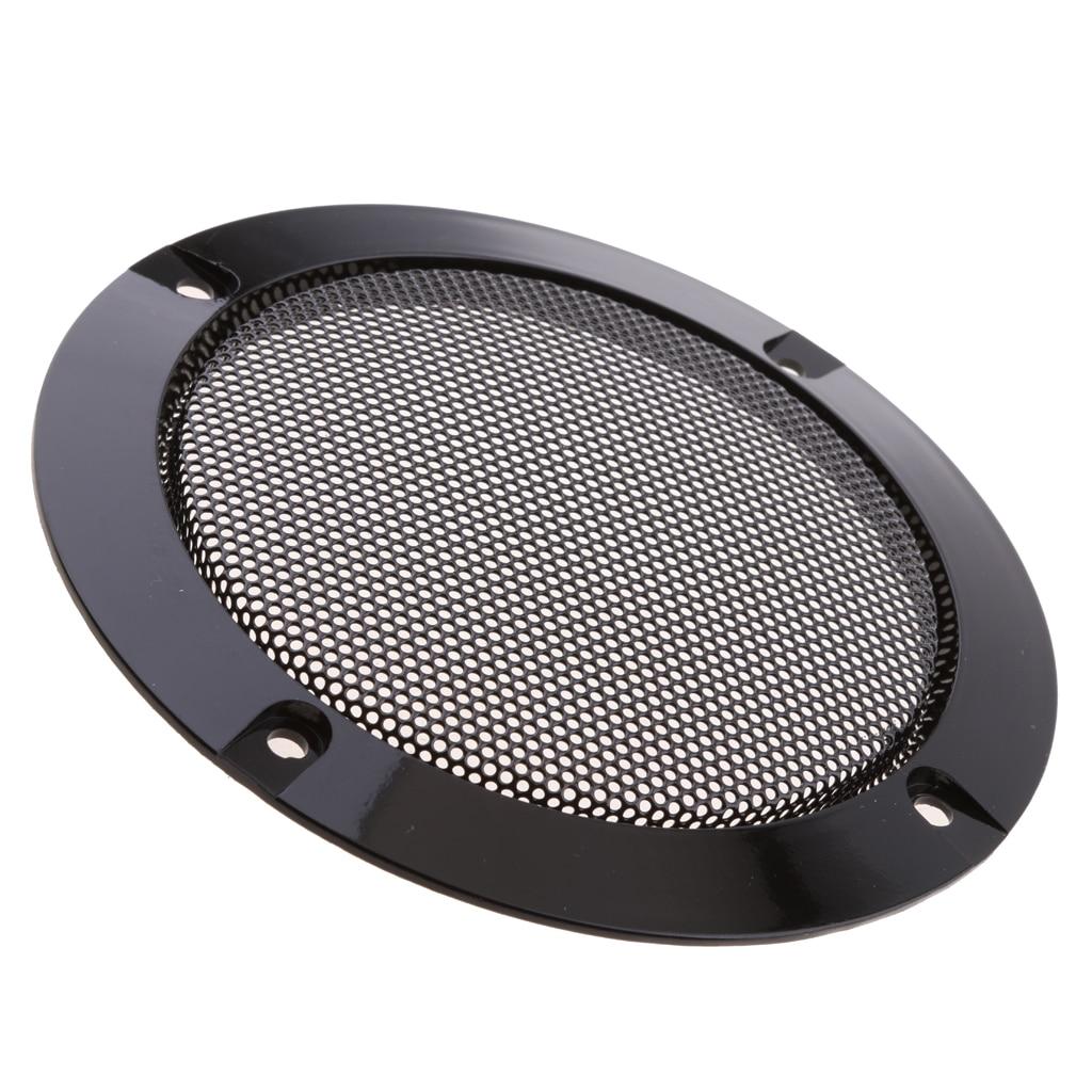 4Inch Speaker Grille Decorative Circle Guard Mesh Cover Loudspeaker Protective Net Cover DIY Speaker Accessories