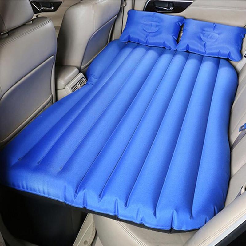 Oxford tissu matelas gonflable voyage Camping voiture siège arrière sommeil repos matelas avec pompe à Air voiture sexe lit voiture accessoires