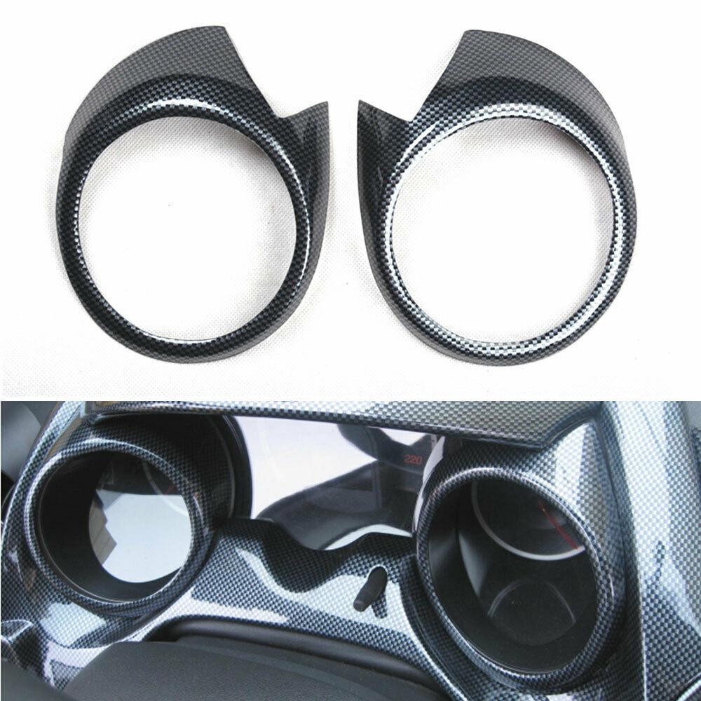 Für HONDA FIT 2008-2013 Auto Instrument Dashboard Meter Ring Abdeckung Panel Fall Trim