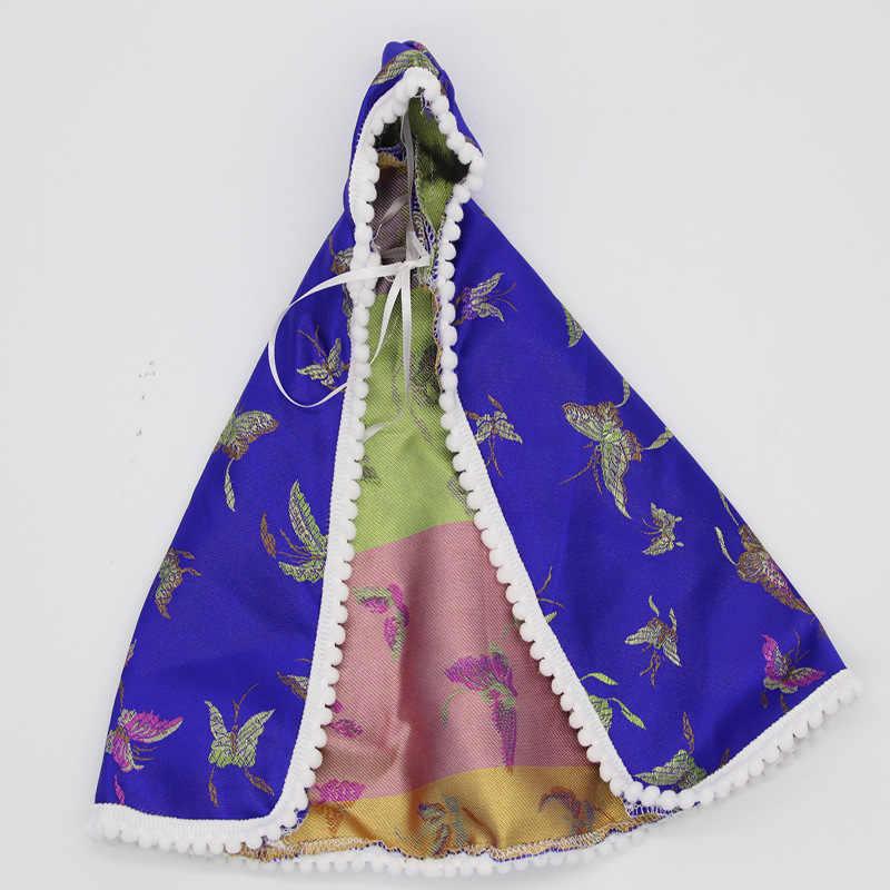 1 pcs 겨울 망토 바비 blyth licca 의류 princesas 의상 bjd 1/6 수제 boneca ropa 복장 vestiti 인형 액세서리