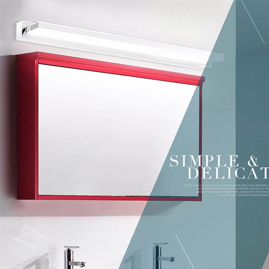 80 cm Moderne LED Acryl Wandleuchte 13 Watt Rechtwinklig Stil