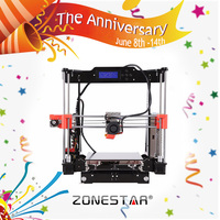 P802NB The Eighth Generation High Precision Reprap Prusa I3 3d Printer DIY Kit 1 Roll Filament