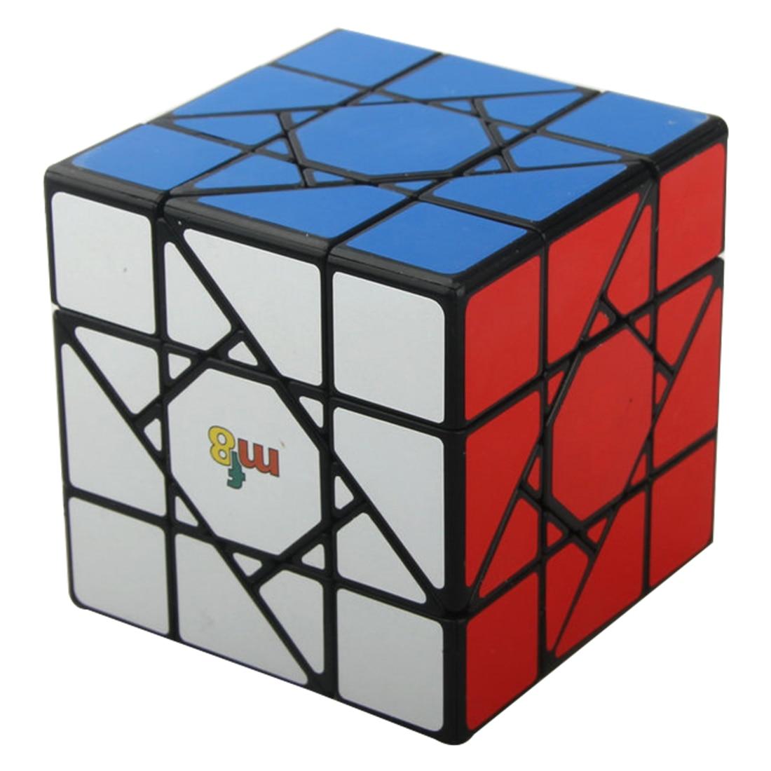 MF8 Sun Cube Legend 3x3x3 Cube magique casse-tête Puzzle jouet (bandé)-noir-base