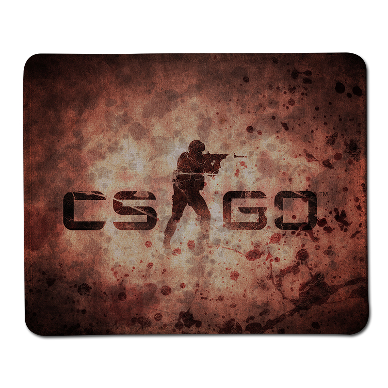 Big Promotion CS GO Gaming Stitched Edge Mousepad Optical Anti-slip Mice Pad For Computer Desktop Mouse Mat Durable Speed Pads