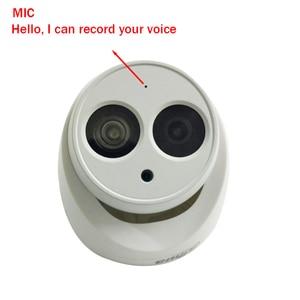 Image 5 - Dahua 6MP IP Camera IPC HDW4631C A H.265 full metal body Built in MIC IR30m IP67 IK10 CCTV Dome security Camera Multi language