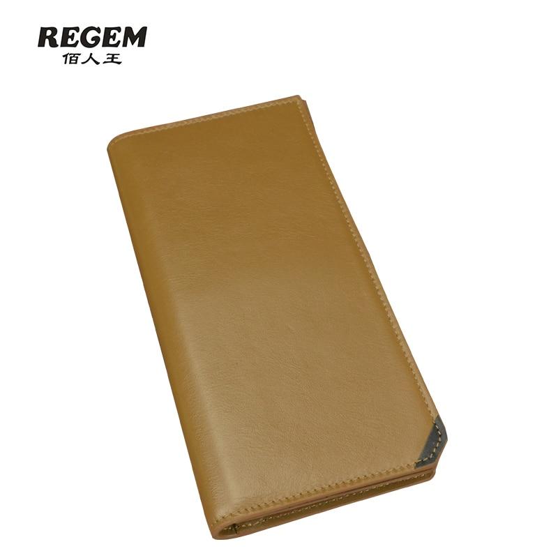 ФОТО Man long REGEM purse Leather wallet male Han edition men's paragraphs short youth set his wallet