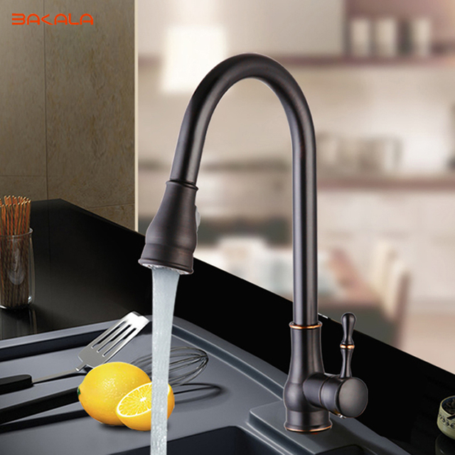 Bakala 360 Rotating Faucet Luxury Orb Pull Down Kitchen Whole New Arrival Solid Br Swivel