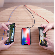TOTUOne to three elbow data lines fast charging line 1.5m for ios interface Android C phone cable