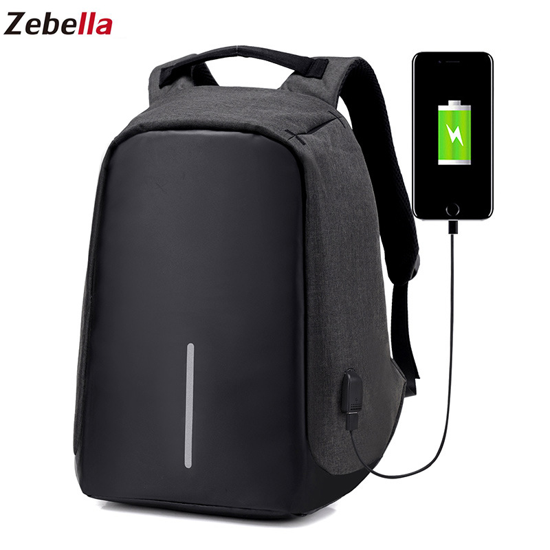 Diebstahl Rucksack Frauen Laptop USB lade Männer 15 Zoll Notebook Rucksäcke Mode Männlichen Mochila Escolar Feminina Reisetaschen