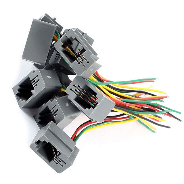 Telephone Connector Wiring on