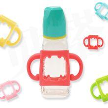 Универсальная ручка для детских бутылочек Мягкая силиконовая широкая ручка для рта многоцветная термостойкая бутылочка для кормления аксессуары