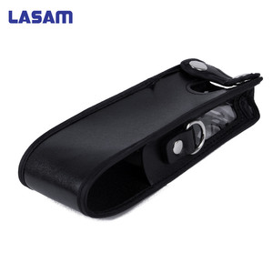 Image 1 - LASAM Extended Leather Soft Case Holster for Baofeng UV 5R 3800mAh Two Way Radio FM TYT TH UVF9 TH F8 TH UVF9D Walkie Talkie