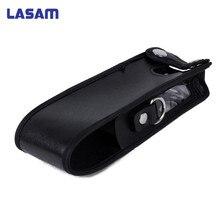 Lasam الموسعة جلد لينة حالة الحافظة ل baofeng 5r 3800 مللي أمبير اتجاهين راديو fm tyt TH UVF9 TH F8 TH UVF9D اسلكية تخاطب
