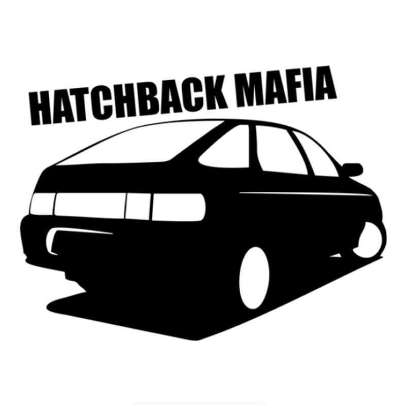 Three Ratels TZ-783 12*15.8cm 1-5 Pieces Car Sticker Hatchback Mafia Auto Sticker Car Stickers Removable