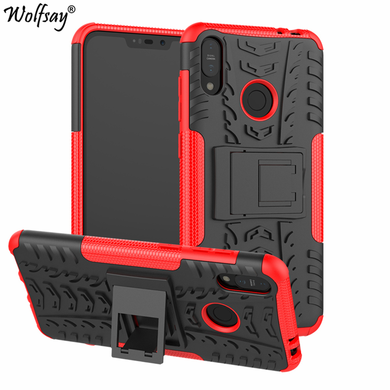 Cover Asus Zenfone Max M2 ZB633KL Case Shockproof Silicone Plastic Holder Heavy Armor Phone Case For Asus Zenfone Max M2 X01BDA