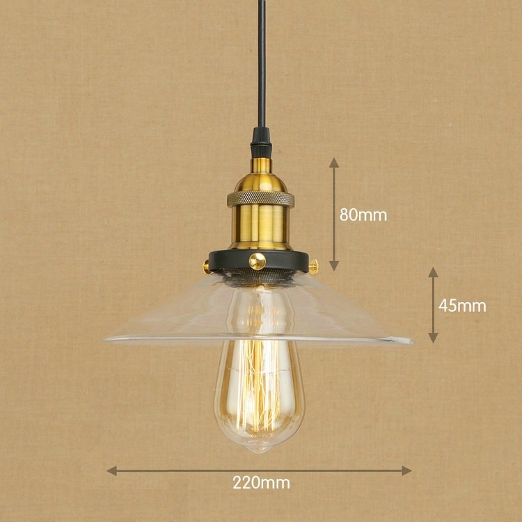 IWHD Iron Style Loft Industrial Hanging Light LED Glass Hang Lights Kitchen Bedroom Restaurant Vintage Lamp Home Lighting Lustre iwhd loft style creative retro wheels droplight edison industrial vintage pendant light fixtures iron led hanging lamp lighting