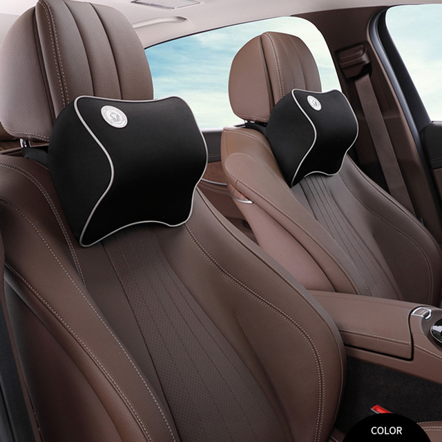 Car Headrest Seat Head Neck Rest Massage Memory Foam Cushion Support For 95 Cars Office Chair Neck Pillow In Neck Pillow From Automobiles
