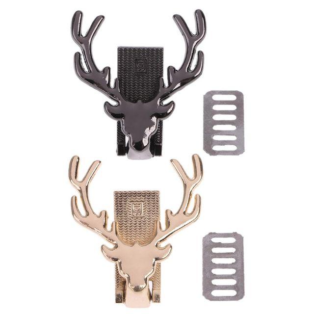 Veados Saco De Metal Decoração para DIY Artesanato Bolsa de alta Qualidade Saco Do Mensageiro Do Ombro Hardware