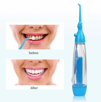 New Portable Oral Irrigator clean the mouth wash your tooth water irrigation manual dental flosser no electricity ABS - discount item  24% OFF Personal Care Appliances