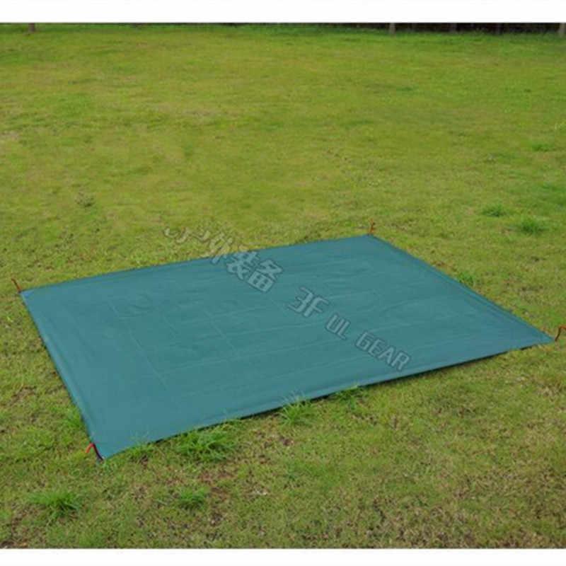 3f ul engrenagem tenda piso saver reforçado multi-purpose lona tenda pegada acampamento praia piquenique à prova dwaterproof água encerado bay play