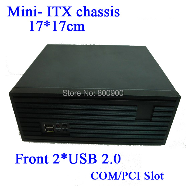 Mini- ITX chassis small chassis drawing panel full height PCI card expansion MINI ITX motherboard of choice custom made all aluminum chassis car chassis htpc chassis pci expansion chassis exquisite small computer fixed i o mini itx chas