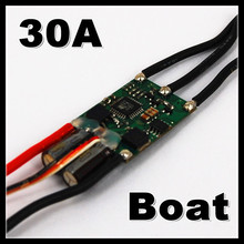2-3S Lipo 30A 5V/2A BEC Brushless Speed Controller ESC For RC Boat BEC30A/S Without Water Cooler